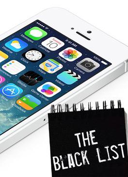 черный список iphone