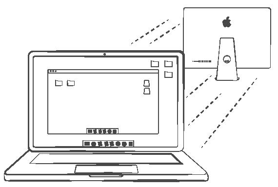 Удаленное обслуживание компьютеров Apple